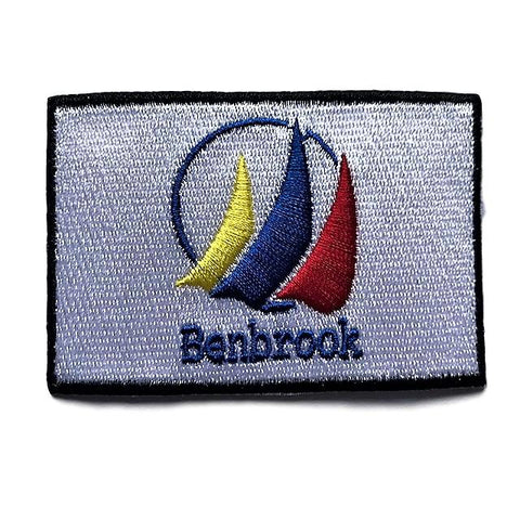 "City of Benbrook, Texas Flag Sew / Iron-On Patch (2"" x 3"")"