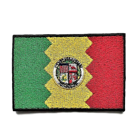 "City of Los Angeles, California Flag Sew / Iron-On Patch (2"" x 3"")"