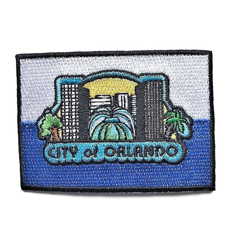 "City of Orlando, Florida Flag Sew / Iron-On Patch (2"" x 3"")"