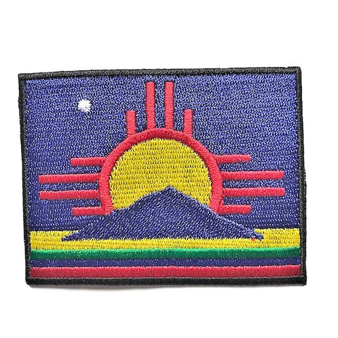 "City of Roswell, New Mexico Flag Sew / Iron-On Patch (2"" x 3"")"