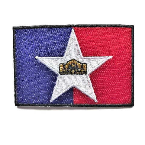 "City of San Antonio, Texas Flag Sew / Iron-On Patch (2"" x 3"")"