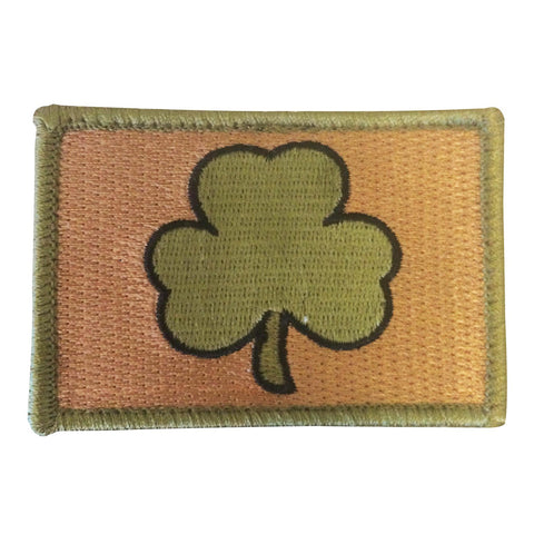 "Irish Shamrock Tactical Patch w/ Velcro (2"" x 3"")"
