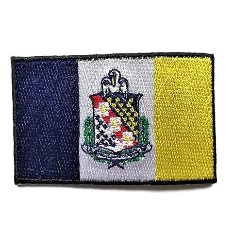 "City of Shreveport, Louisiana Flag Sew / Iron-On Patch (2"" x 3"")"