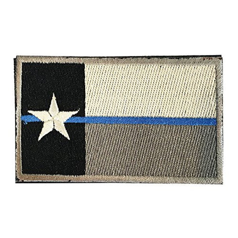 "Texas Flag Tactical Patch w/ Velcro (2"" x 3"")"