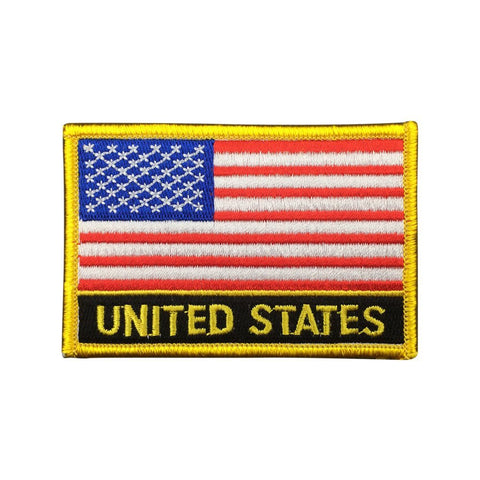 "United States of America Flag Sew / Iron-On Patch (2"" x 3"")"