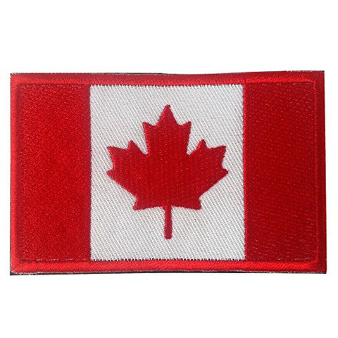 "Canada Flag Tactical Patch w/ Velcro (2"" x 3"")"