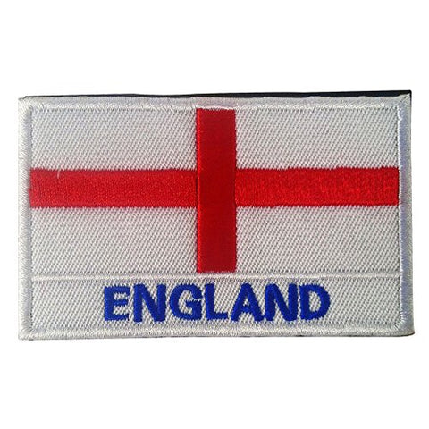 "England Flag Tactical Patch w/ Velcro (2"" x 3"")"