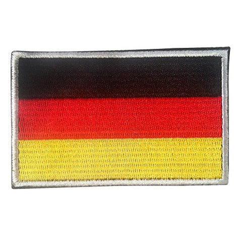 "Germany Flag Tactical Patch w/ Velcro (2"" x 3"")"