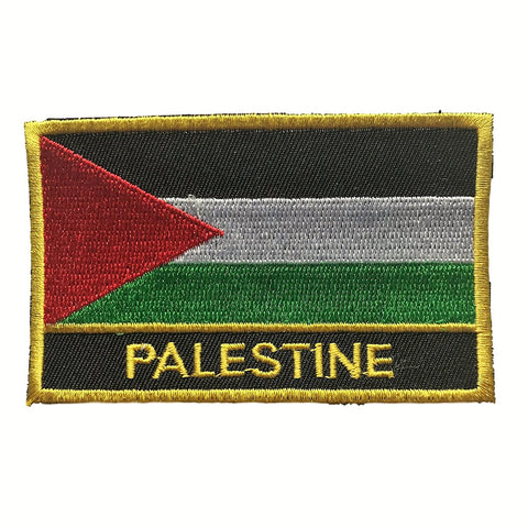 "Palestine Flag Sew / Iron-On Patch (2"" x 3"")"