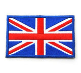 "United Kingdom Great Britain (UK) Flag Tactical Patch w/ Velcro (2"" x 3"")"