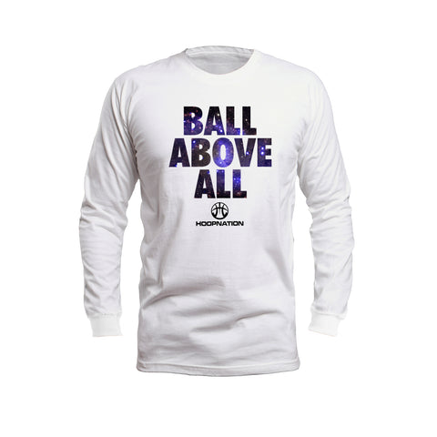 Ball Above All Galaxy  Long Sleeves