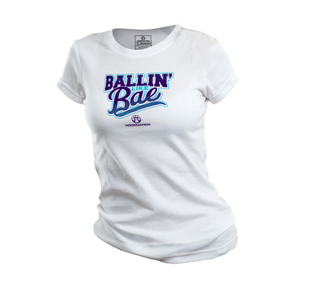 Ballin Like Bae Women's Tee