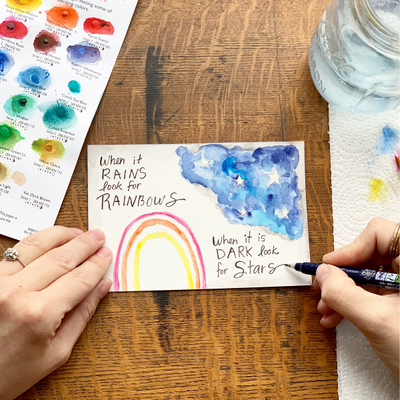 Let's Make Art Matter for Cassell- March 2020 Art Journal