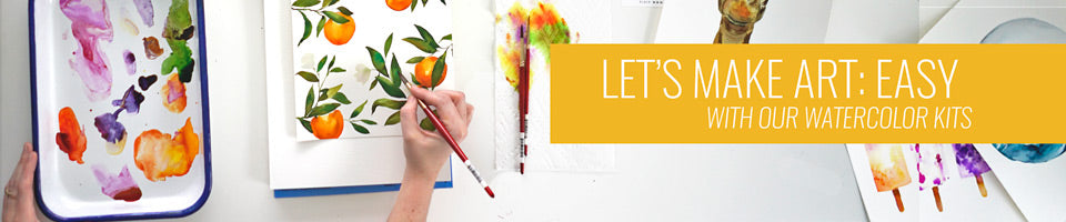 Kit Banner for Watercolor Projects