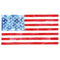 American Flag Watercolor Kit