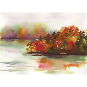 Autumn Lake Watercolor Kit