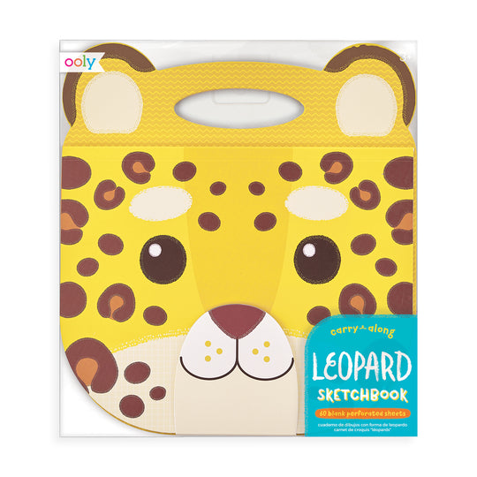 Carry Along Sketchbook - Leopard