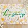 Keep Growing Lettering Kit
