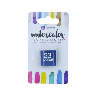 Watercolor Confections Single - 23 Ocean