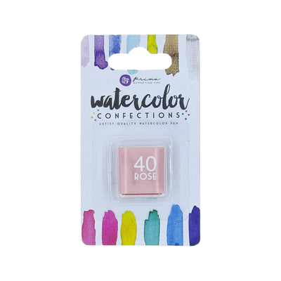 Watercolor Confections Single - 40 Rose