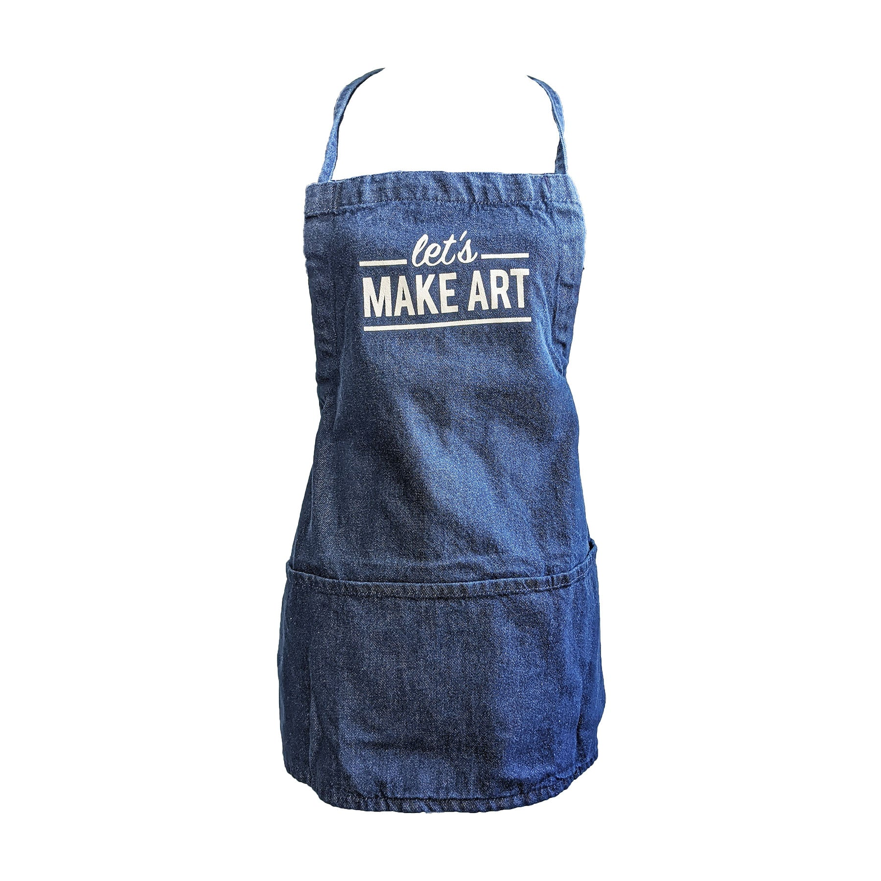 Let's Make Art Denim Apron