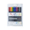 Fudenosuke Colors Brush Pen Set (10 pack)