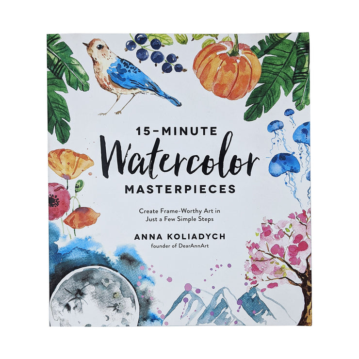 15 Minute Watercolor Masterpieces