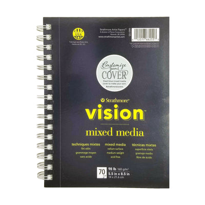 Vision Mixed Media Paper Pad