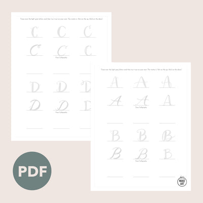 ABCs Your Way Practice Sheets