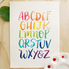 ABC's Lettering Project Kit