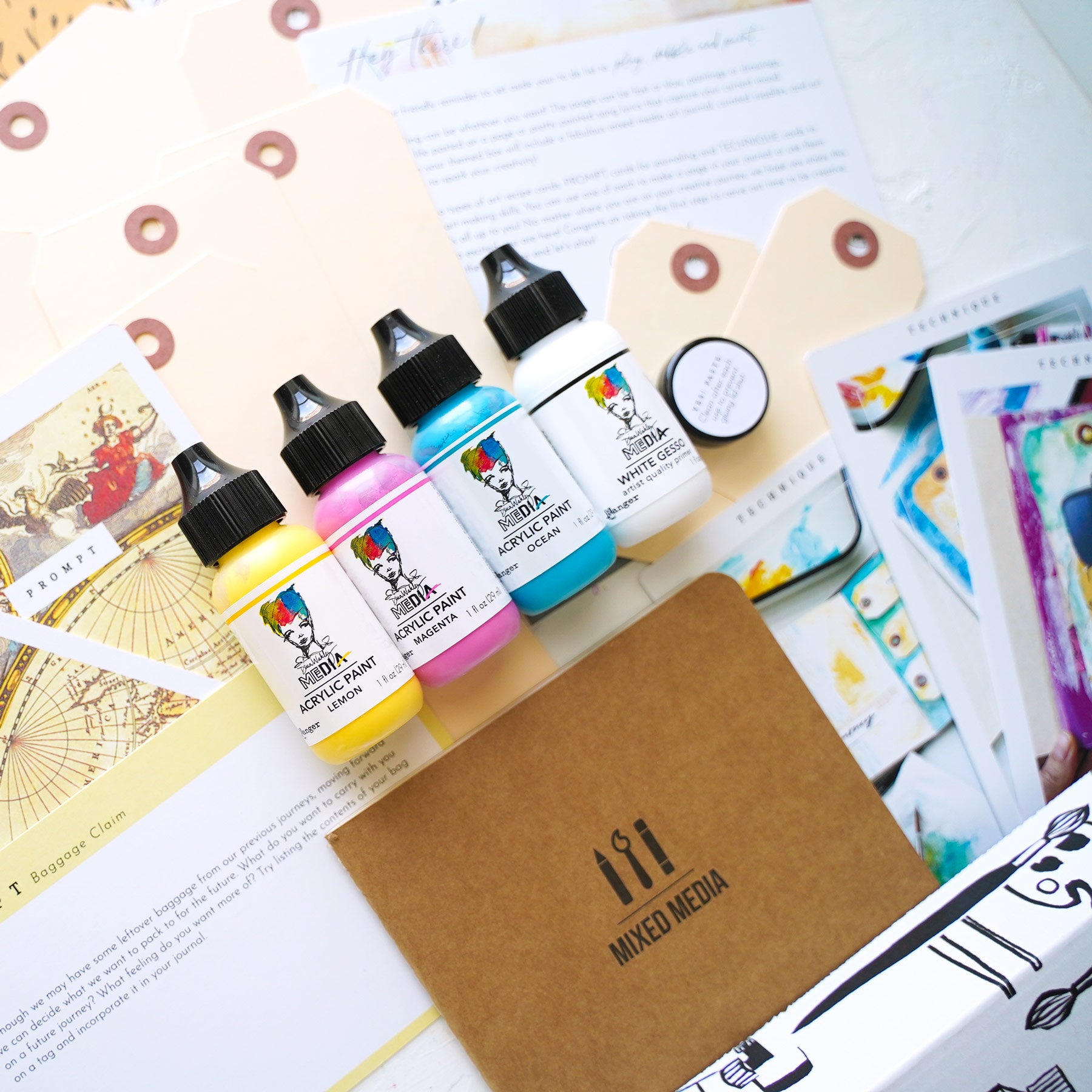 Art Journaling Subscription Box