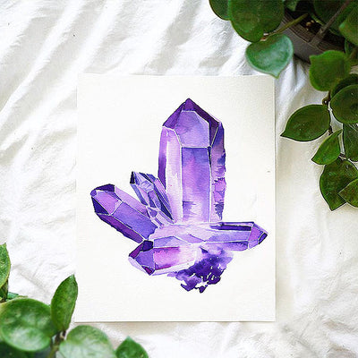 Amethyst Watercolor Kit