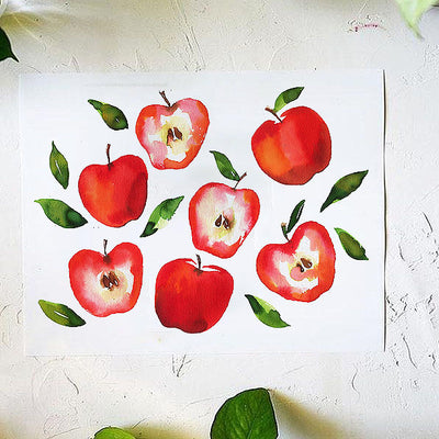 Apples to Apples Watercolor Kit