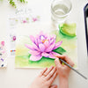 Water Lily Watercolor Kit
