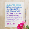 Be Brave Be You Lettering Kit