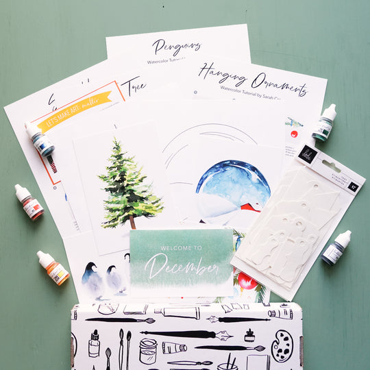 Watercolor Subscription Box