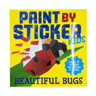 Paint-by-Stickers - Beautiful Bugs