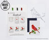 Cardinal Watercolor Paint Kit