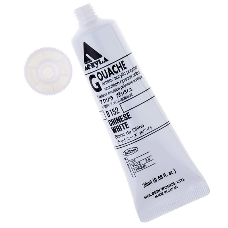 Acrylic Gouache 20ml Paint Tube