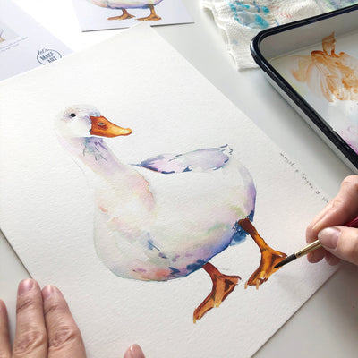 Duck Watercolor Kit