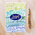 End of the Year Lettering Kit