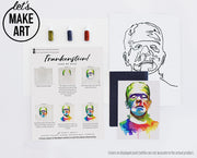 Frankenstein Watercolor Kit
