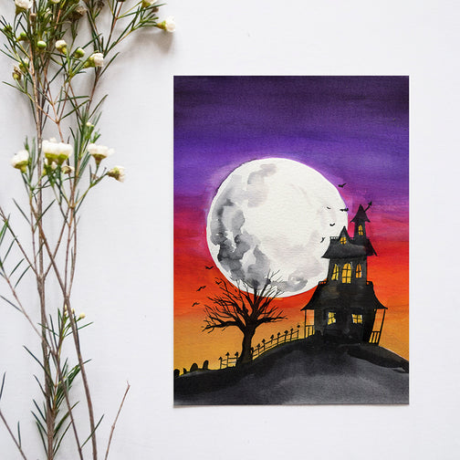 Haunted House Bonus Watercolor Kit