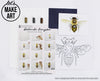 Honey Bee Watercolor Paint Kit