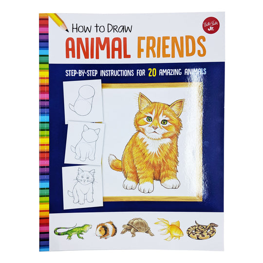 How To Draw Animal Friends