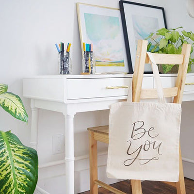 Tote Bag Lettering Kit