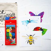 Watercolor Insect Kit for Kids
