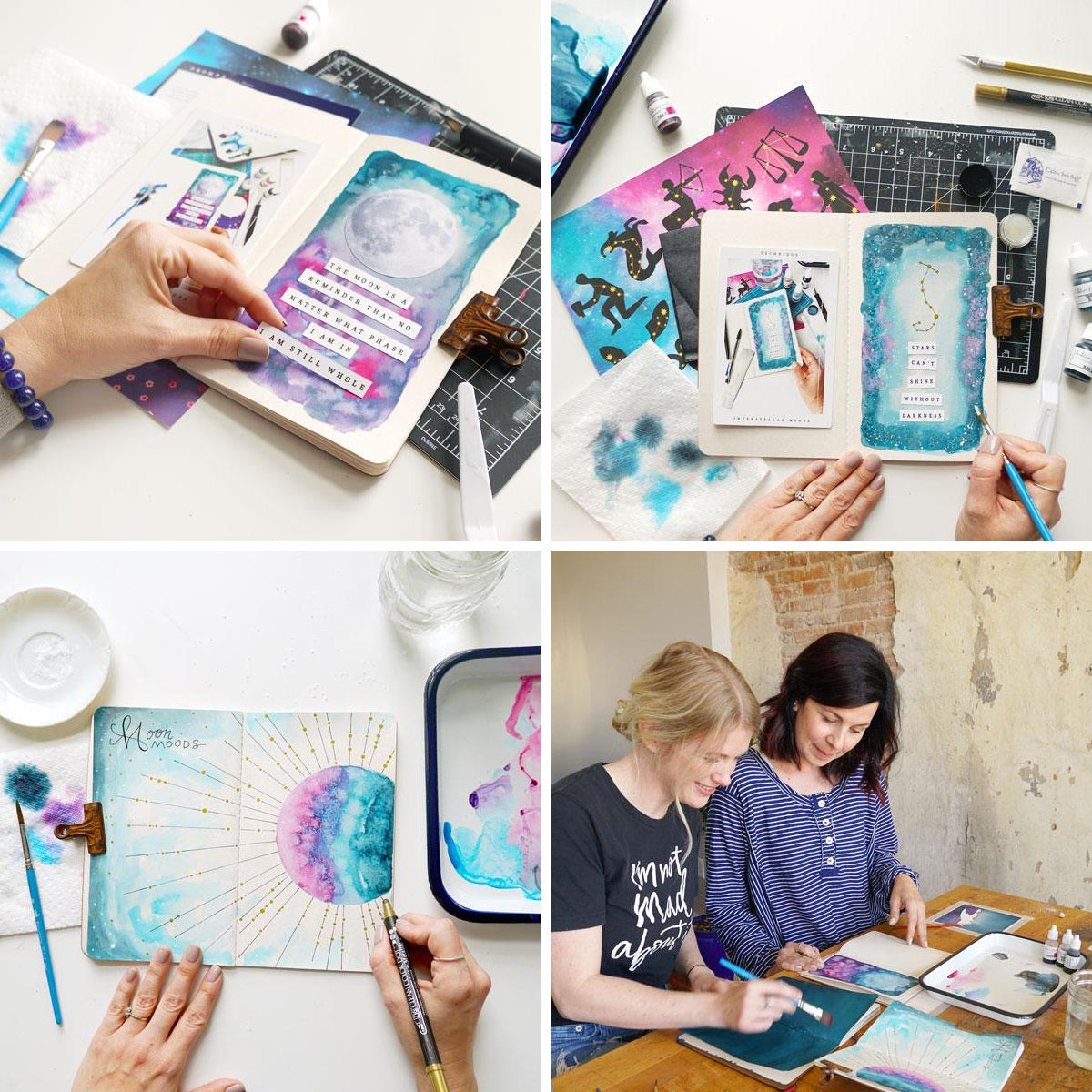 Interstellar Moods Art Journaling Box