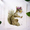 Jill the Squirrel Watercolor Paint Kit