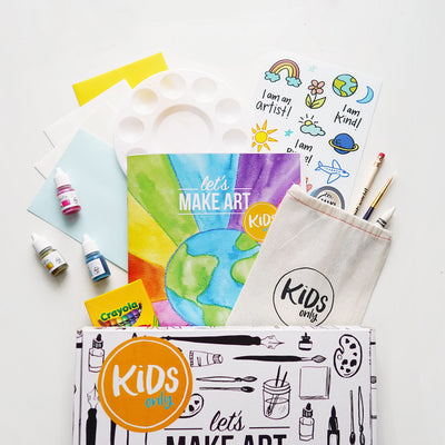 Kids Art Subscription Box